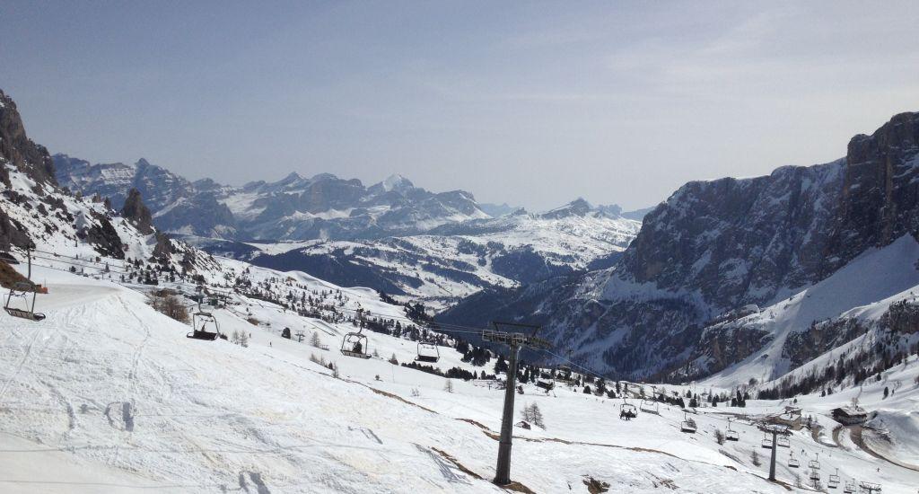 Dolomiten – ein Traum für jeden Skifahrer
