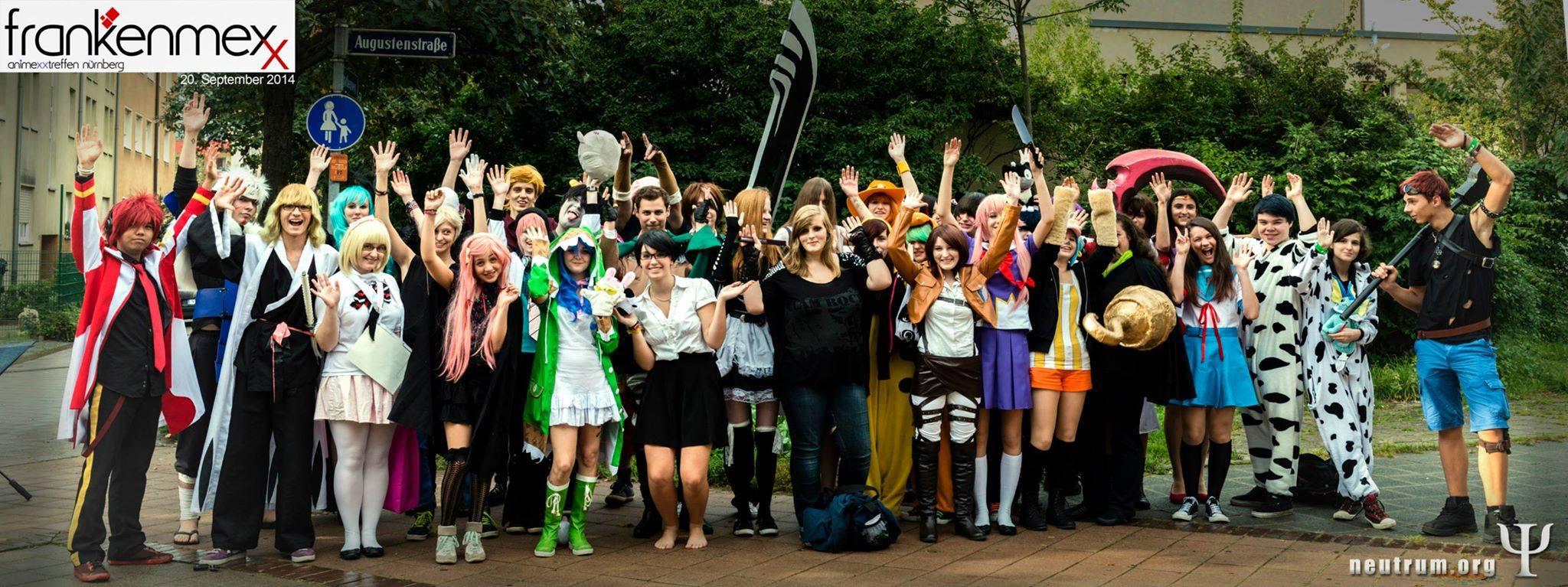 FrankenMEXX – ein Fest für Mangas und Cosplayer