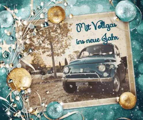 Es Moggerla – frohe Weihnachten