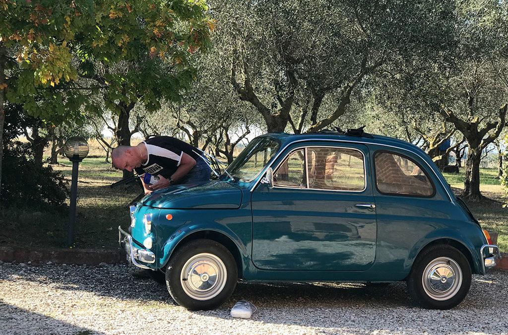 Es Moggerla – ein sauberer Fiat500