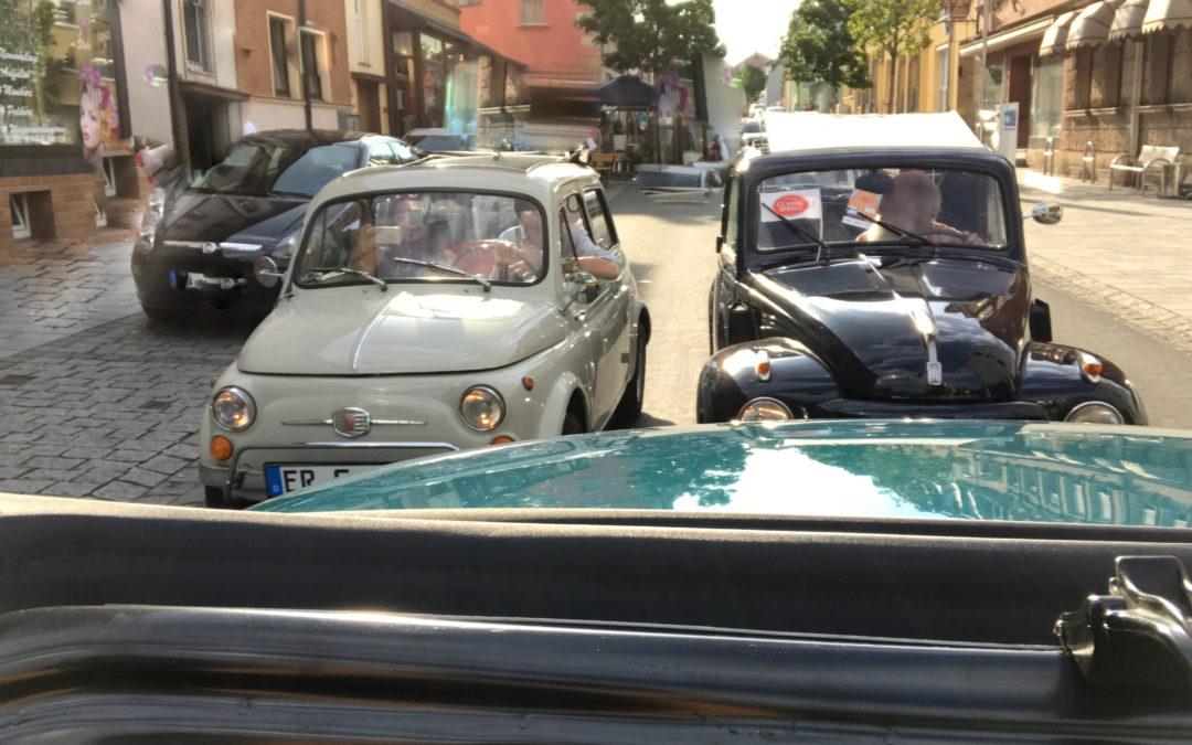 Es Moggerla – mit dem Fiat500 bei der Rallye