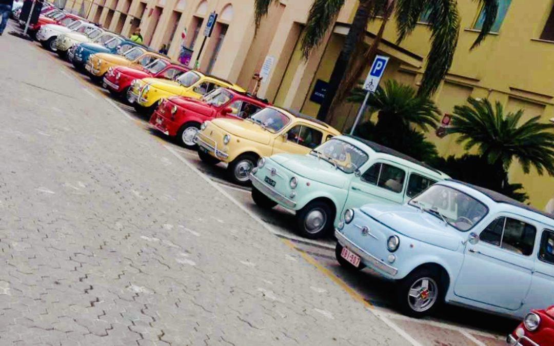 Es Moggerla – Die Fiat500-Welt trifft sich in Garlenda/It