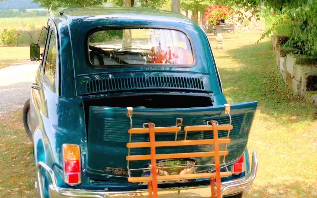 Fiat 500 Oldtimer - Treffen im Hohenlohe Land